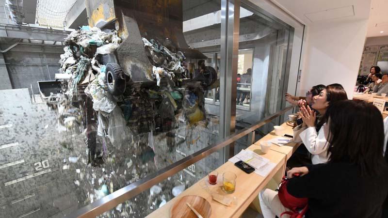 """Где в Японии находится """"мусорный"""" бар"""