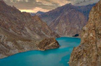 Как появилось в Пакистане озеро Аттабад