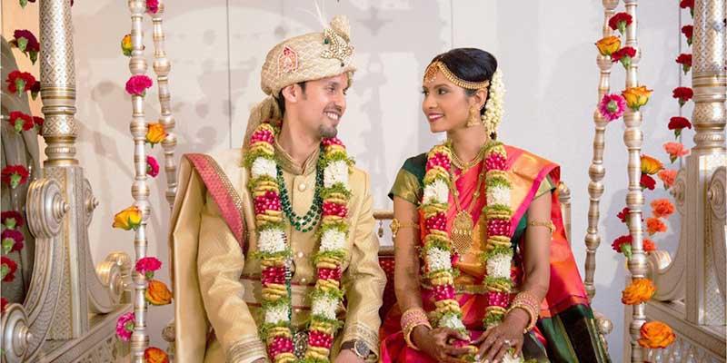 Залог счастья молодоженов в Индии
