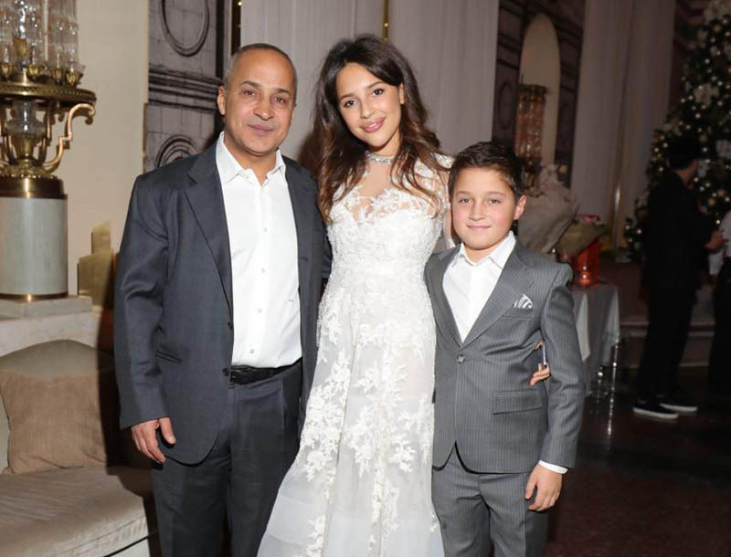 Диана является шестым ребенком российского миллиардера Манасира Зияда
