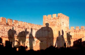 Шествие призраков на острове Крит в Греции