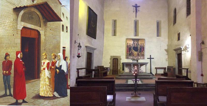 церковь Данте или Беатриче