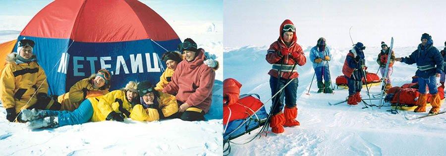 Первая чисто женская экспедиция в Антарктиду была направлена в 1989 году