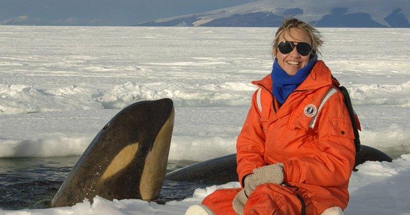 В каком году в Антарктиде впервые попала чисто женская экспедиция