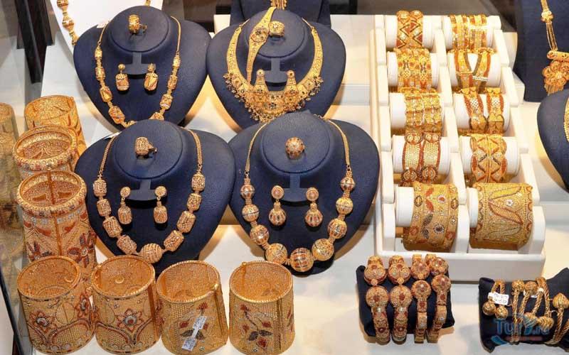 золотой рынок в Шардже.