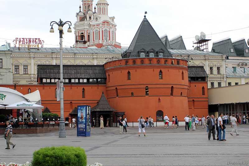 один из старейших районов Москвы Китай-город