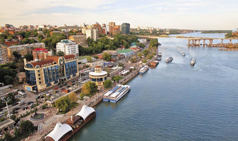 Почему город Росто-на-Дону называют портом пяти морей