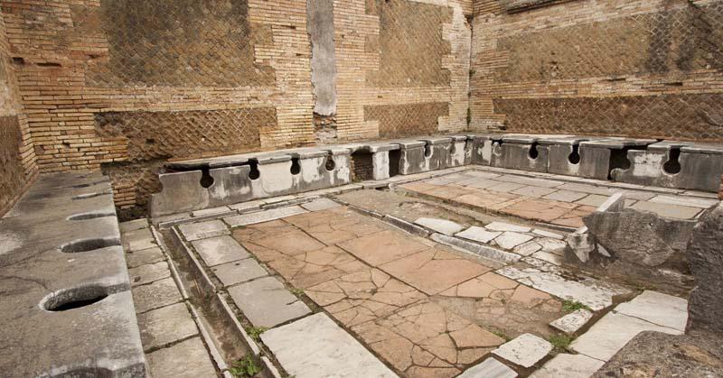 Что интересного можно узнать о древнеримских туалетах