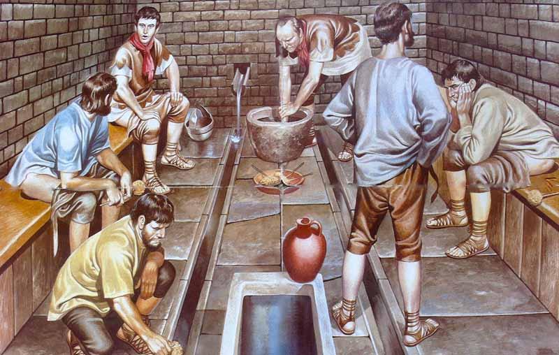 Еще немного интересных фактов о древних римских туалетах
