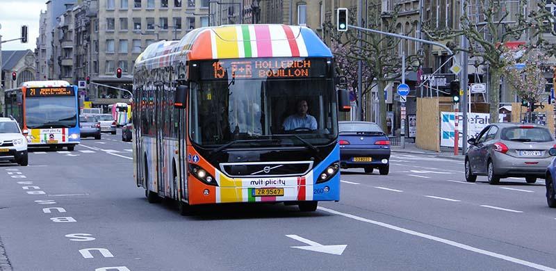 Бесплатный проезд в Люксембурге
