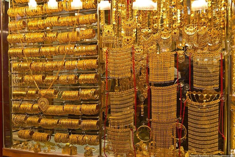 Что представляет собой золотой рынок в Шардже