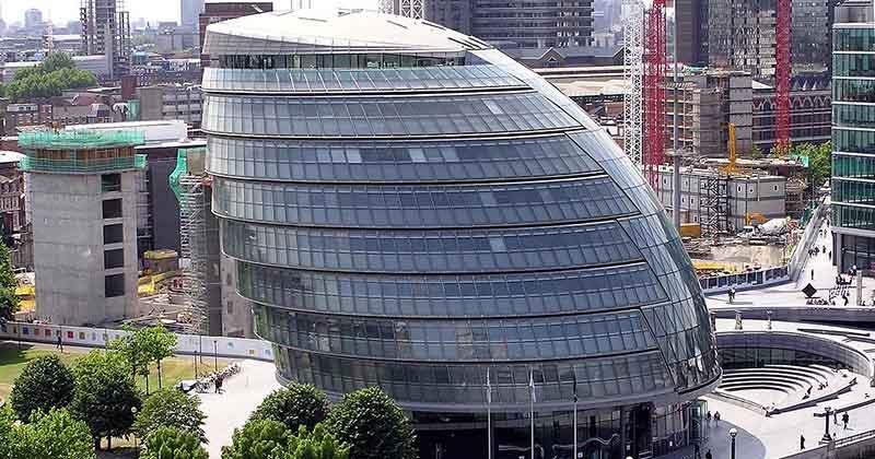 Здание новой лондонской мэрии