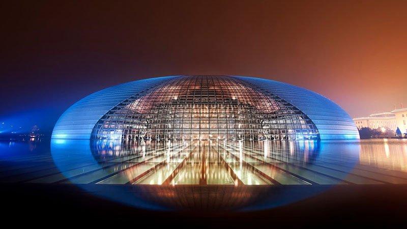 Национальный театр в Китае