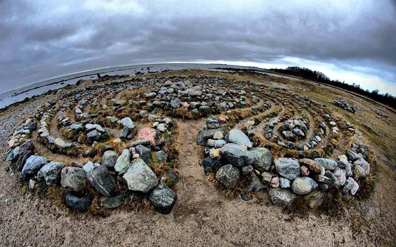Откуда взялись каменные лабиринты на Соловках