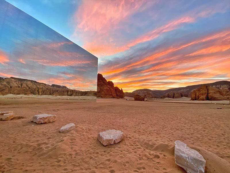 Пустыня «Аль-Ула» является одним из самых посещаемых мест страны