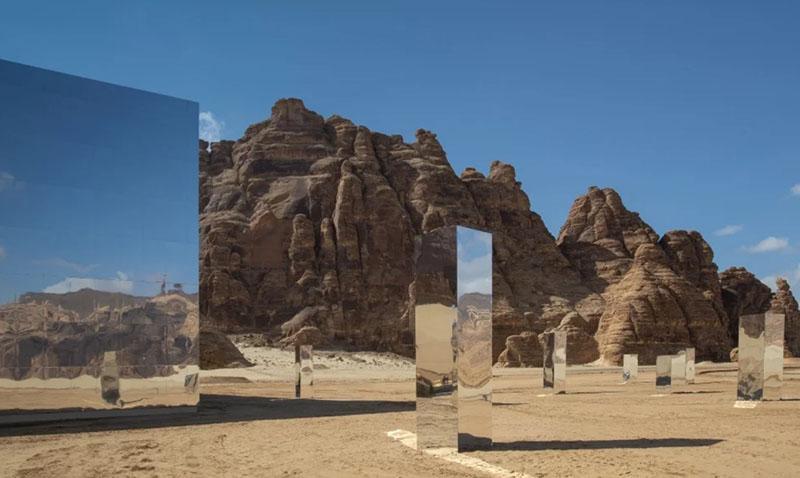 Если перевести название помещения «Марайя», то оно означает «зеркало, отражение».
