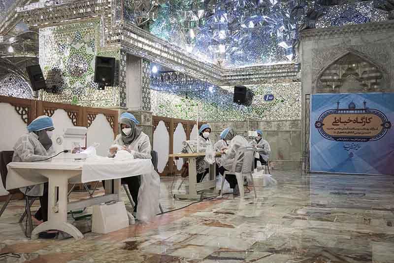 огда разгорелся коронавирус, доступ туристов в мавзолей в Иране закрыт для посетителей
