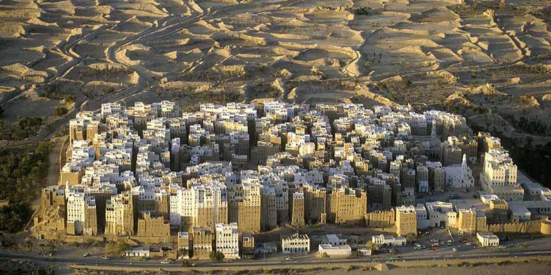 Шибам: город глиняных небоскребов