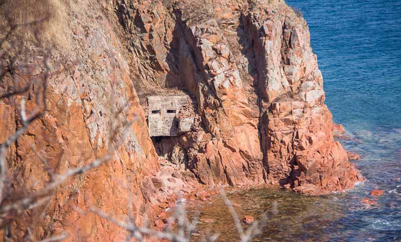 ДОТ «Скала» на острове «Русский»