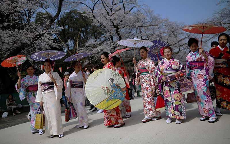 Японцы 4 мая отмечают День зелени.