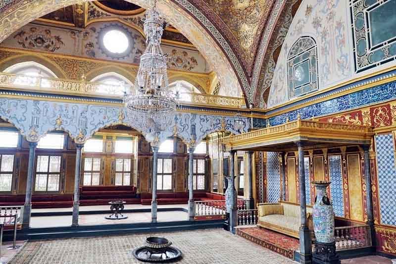 Дворец Топкапы в Стамбуле, где снимали сериал Великолепный век