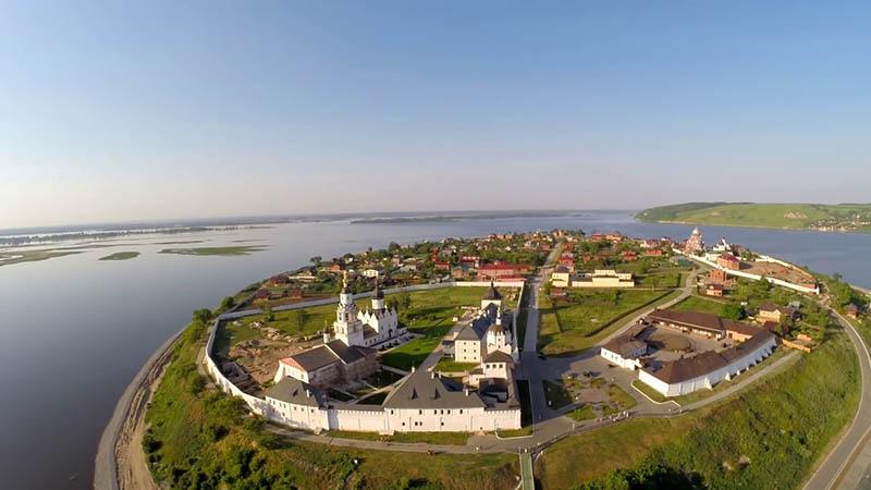Свияжск: единственный островной город на Волге