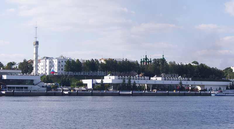 речной вокзал Ярославль