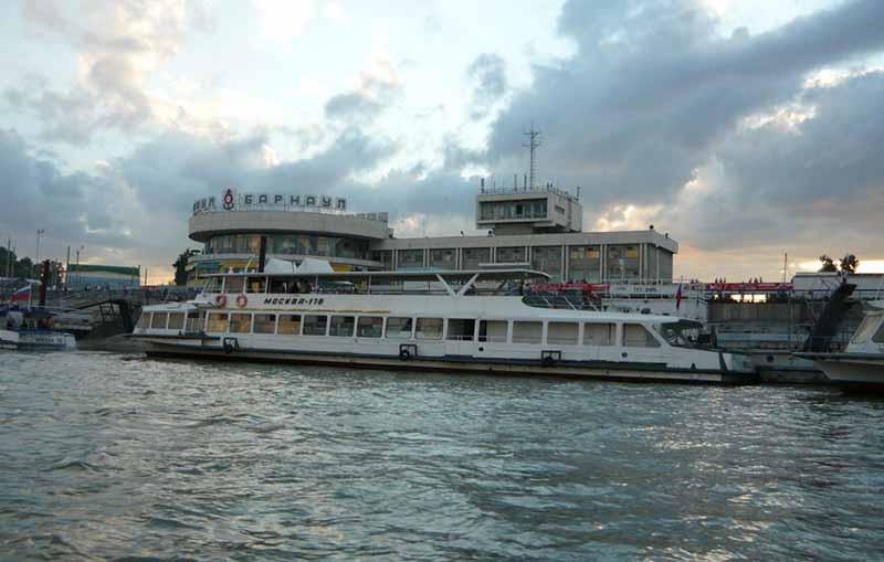 речной вокзал Барнаул