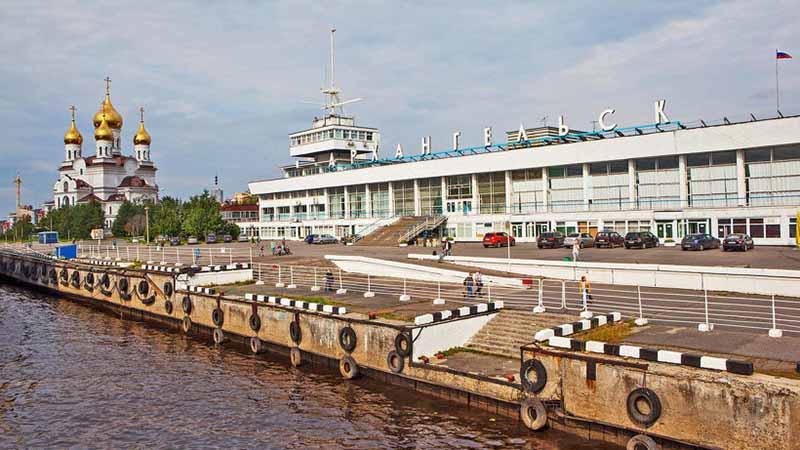 речной вокзал Архангельск
