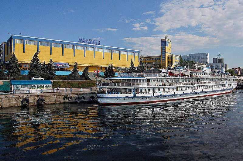 Саратовский речной вокзал
