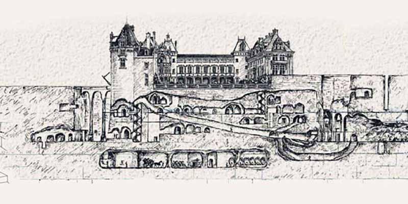 сооружение принадлежит роду, известным членом которого является Жан-Батист Кольбер