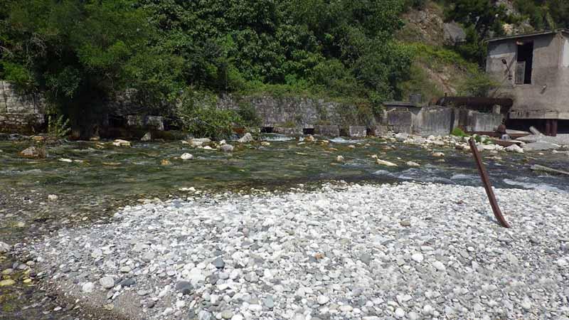 Длина реки Репруа составляет всего 18 метров.