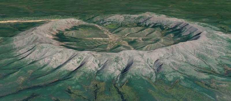 хребет Кондер в Сибири