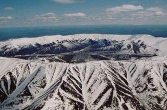 Кондер: горный массив в виде кольца в Хабаровском крае