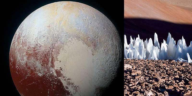 пенитентесы появляются на нашей планете, космонавты обнаружили их уже и на других планетах.