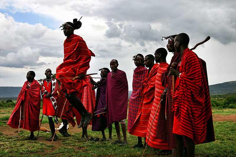 У масаев есть и другие странные обычаи