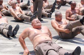 Программа снижения веса для полицейских Таиланда