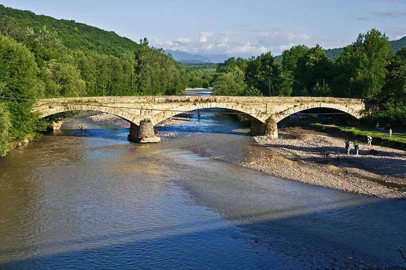Мост в Адыгее, построенный с применением яичного белка