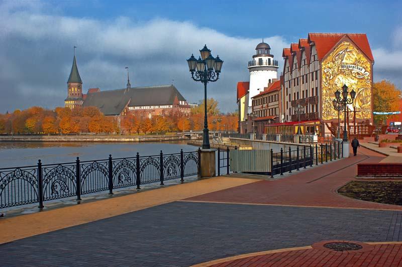 Российские города, напоминающие Европу