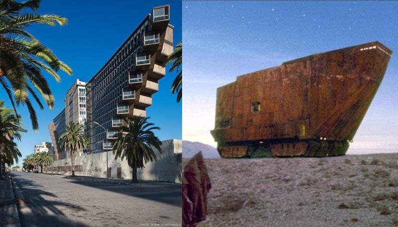 Построен необычный отель был по проекту итальянского архитектора Рафаэля Контижиани