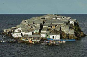 Мгинго — остров с самой высокой плотностью населения в мире