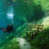 Парк под водой в Австрии