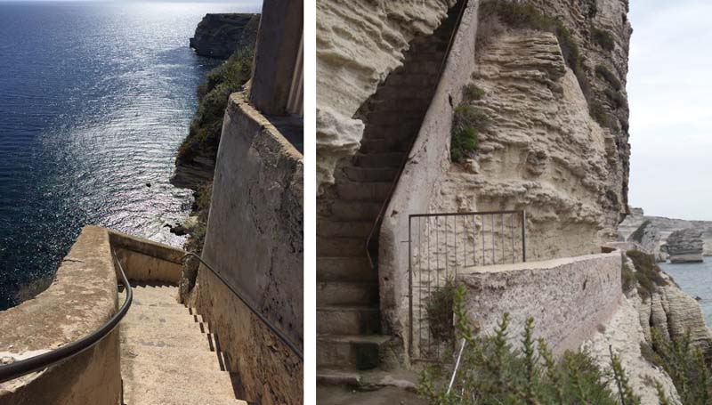 Откуда появилась лестница?