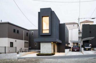 Почему в Японии строят узкие дома
