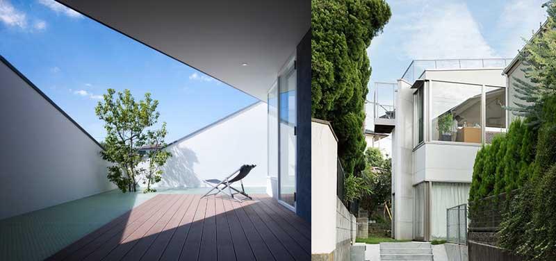 Дома с окнами на крыше
