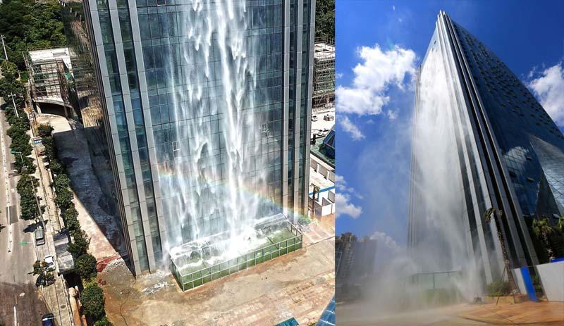 За каждый час работы водопада приходится платить примерно 100-115 долларов.