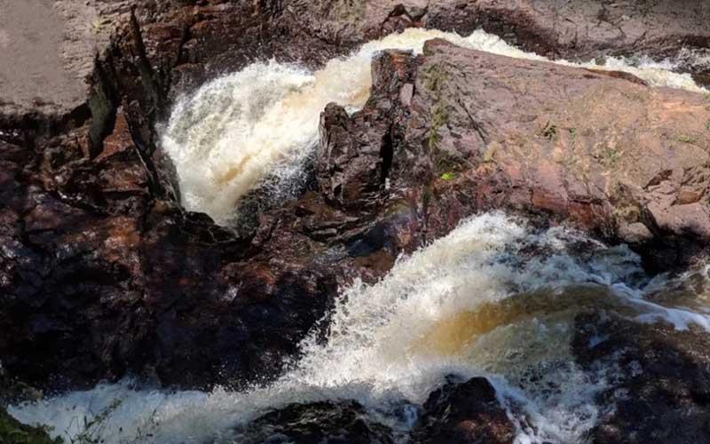 Водопады на реке Брюль