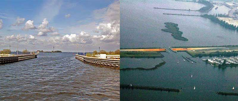 В ширину акведук составляет 25 метров, а в длину – 19 метров.