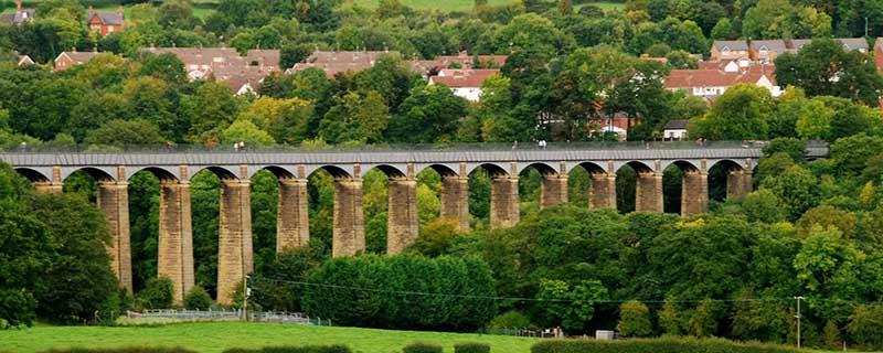 Древний водный мост — акведук Понткисиллте