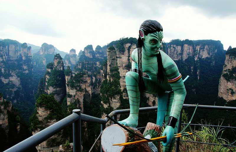 Уникальные особенности национального парка Чжанцзяцзе